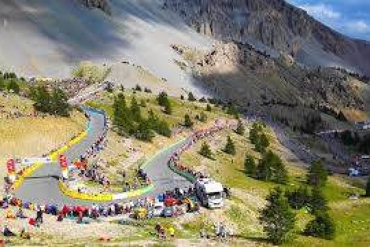 Col Izoard lors du Tour de France